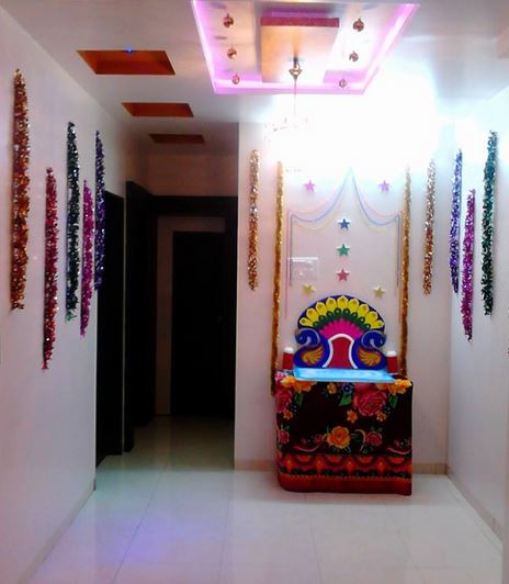 decoration at home simple ganpati decoration decoration for ganesh