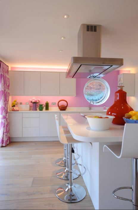 Pink-Kitchen-Designs-9 Small House Kitchen Extentions Ideas on kitchen ideas small home, very small houses, kitchen island with sink, home small houses, interiors small houses, design small houses, kitchen redo on a budget, kitchen styles 2014, living rooms small houses, kitchen remodel, kitchen color schemes, kitchen countertops and backsplashes, kitchens that sell houses, architecture small houses, door designs for houses, landscaping small houses, kitchen upgrades, furniture small houses, kitchen ideas for small areas,