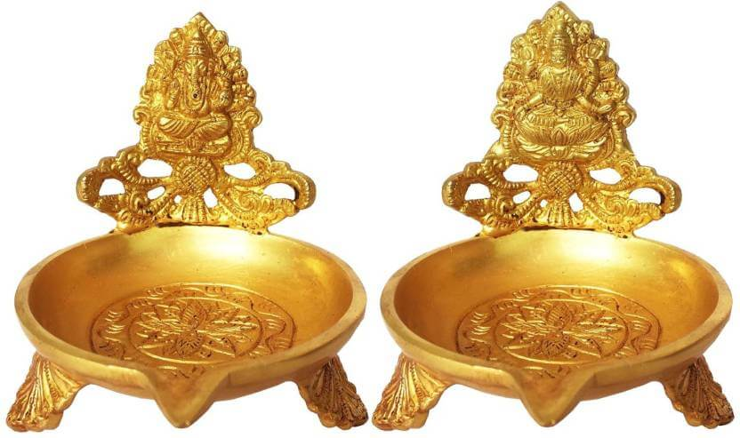 Pooja Items Articles - Brass Oil Lamp