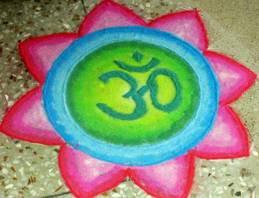 Small Rangoli Designs