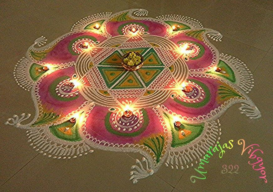 Kolam Rangoli Designs for Pongal