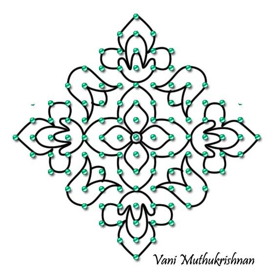 Dot Rangoli Design Images New