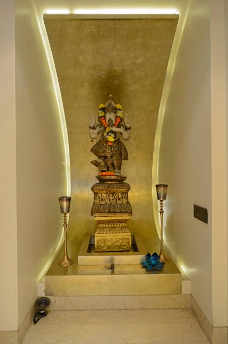 Wall Unit Designs For Small Room: Interior Design For Pooja Room Wall Units
